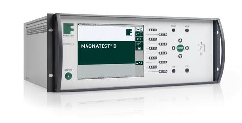 Magnatest_D_3100 for automatic hardness and structure testing of metallic components