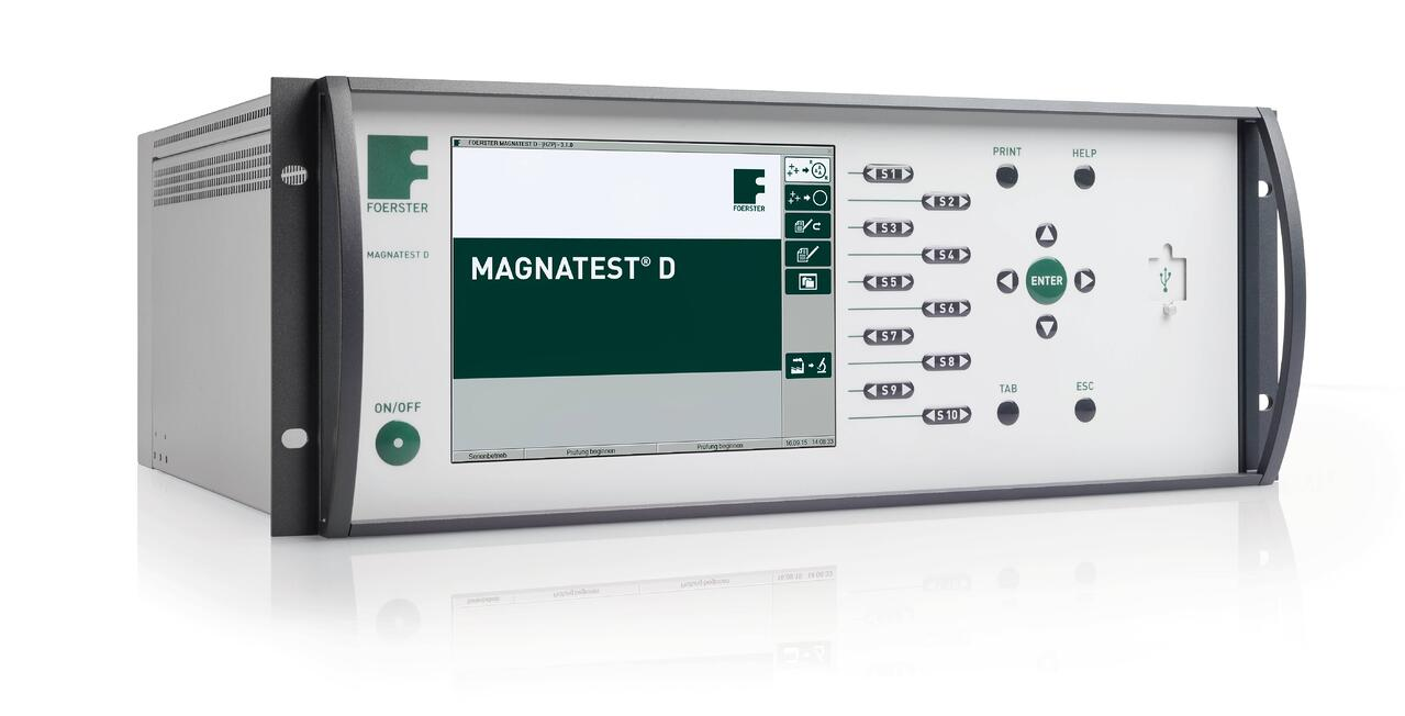 Magnatest for hardness testing